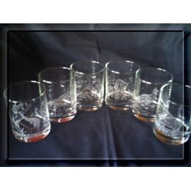 verre whisky grave chasse